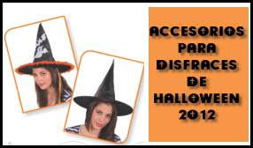 Accesorios para halloween 2012