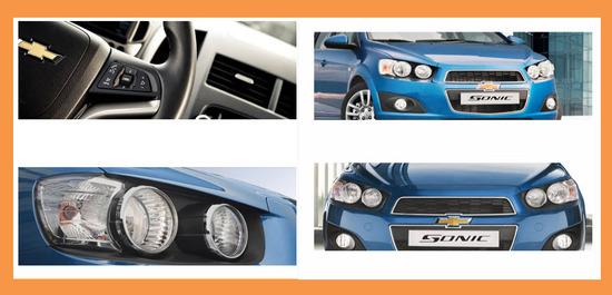Chevrolet Sonic Hatchback 2013, caracteristicas