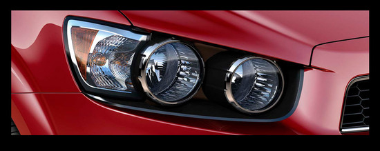 Chevrolet Sonic Hatchback 2013, farolas