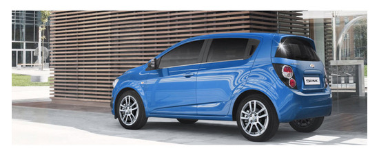 Chevrolet Sonic Hatchback 2013