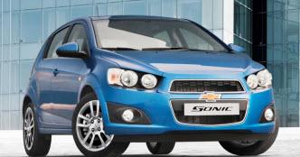 Nuevo Chevrolet Sonic Hatchback 2013