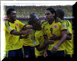 Selección Colombia gana 4-0  a Uruguay en Eliminatorias Mundial 2014