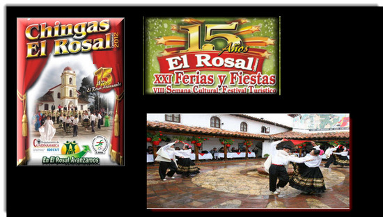 Ferias y Fiestas  en el Rosal 2012