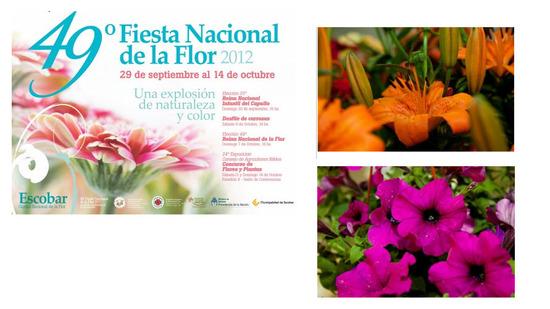 Fiesta Nacional de la Flor 2012