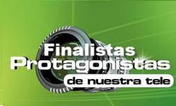 Finalistas Protagonistas de Nuestra Tele 2012