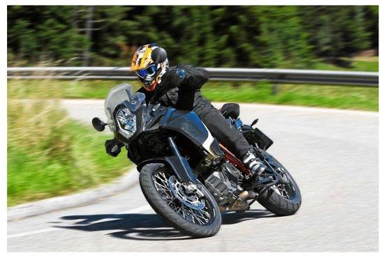 KTM 1190 Adventure R 2013, potencia