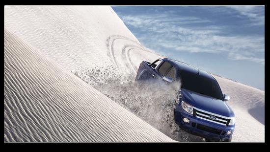 Nueva Ford Ranger 2013, estabilidad