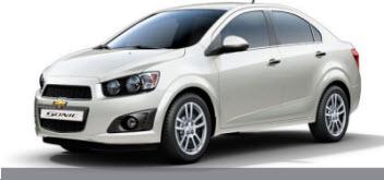 Nuevo Chevrolet Sonic Sedán 2013