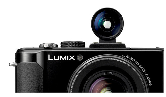 Panasonic Lumix DMC-LX7PU, diseno exterior