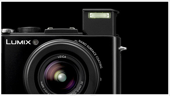 Panasonic Lumix DMC-LX7PU, lente angular