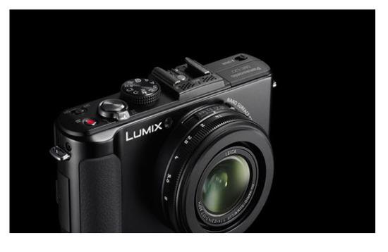 Panasonic Lumix DMC-LX7PU, vista parte exterior