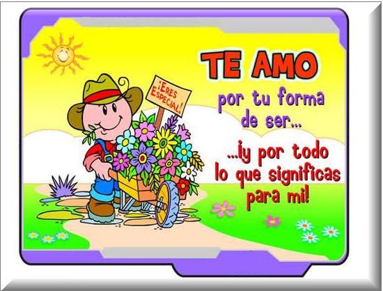 Postales el Dia de Amor y Amistad