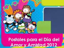 Postales Día de Amor y Amistad 2012