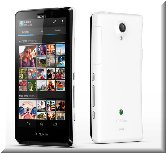 Sony Xperia T, Camara y Video