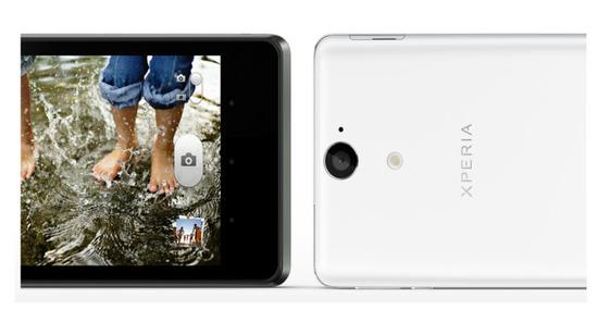 Sony Xperia V, cámara
