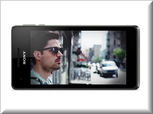 Sony Xperia V, pantalla HD