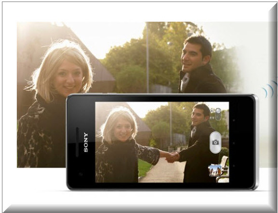 Sony Xperia V, video full HD