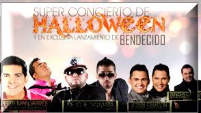 Superconcierto de Halloween en Bogotá 2012