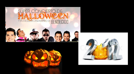 Superconcierto de Halloween 2012