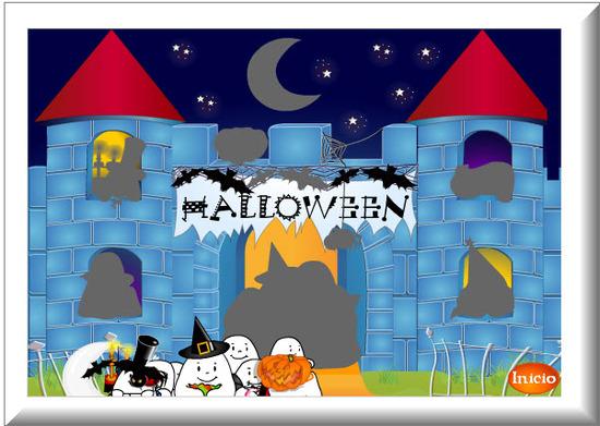 Tarjetas de Halloween, Castillo
