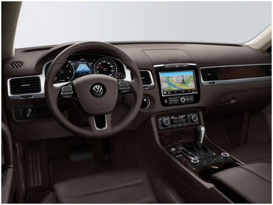 Volkswagen Taureg, diseno interior