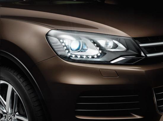 Volkswagen Taureg, faros delanteros
