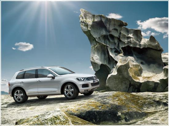 Volkswagen Taureg, maniobrabilidad