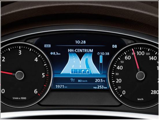 Volkswagen Taureg, tablero de instrumentos
