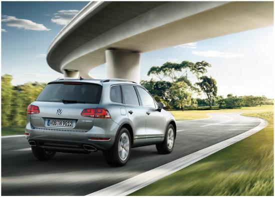 Volkswagen Taureg, vista parte trasera