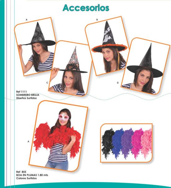 accesorios disfraces 2012