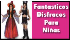 Disfraces para niñas, halloween 2012
