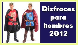 Disfraces para hombres 2012