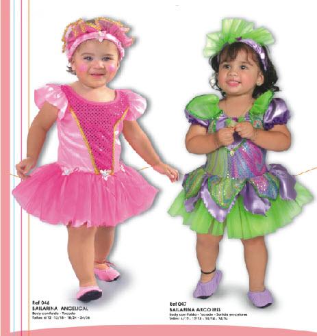 lindos disfraces para bebes de bailarina