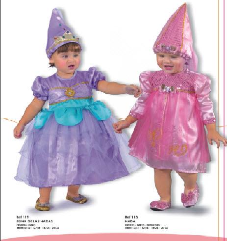 disfraces para bebes de hadas