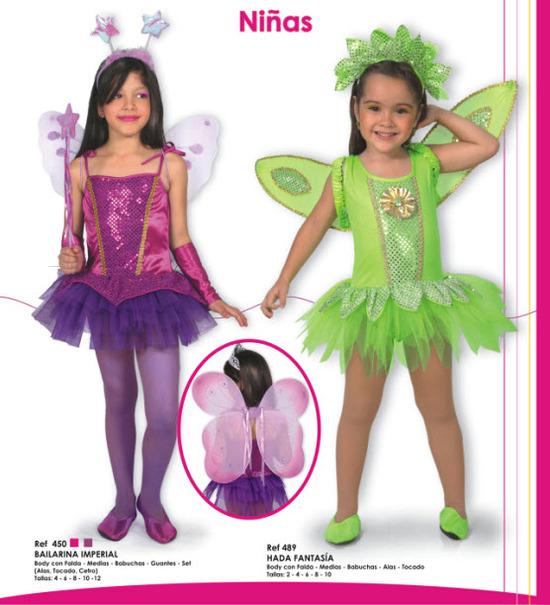 Disfraces para niñas de bailarinas, para todos los gustos