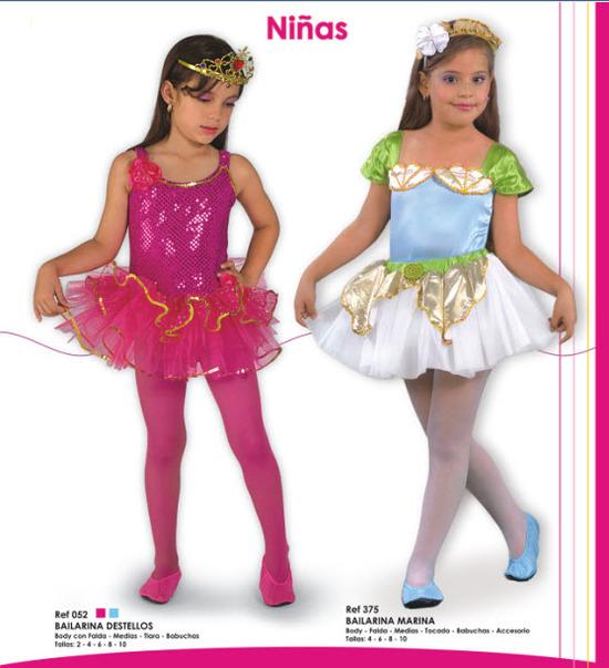Disfraces para niñas de bailarinas para todos los gustos