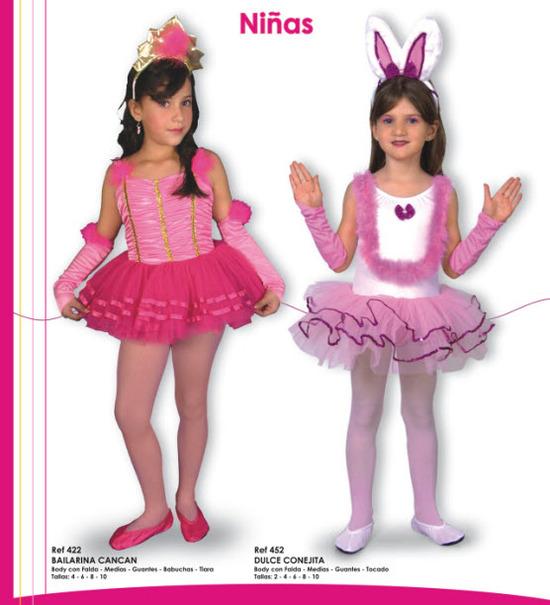 lindos disfraces para niñas de bailarinas