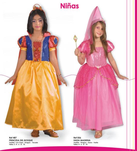 disfraces para niñas de blancanieves