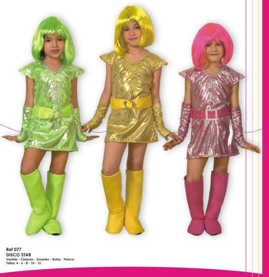 disfraza a tu hija con los mas novedosos trajes de disco star