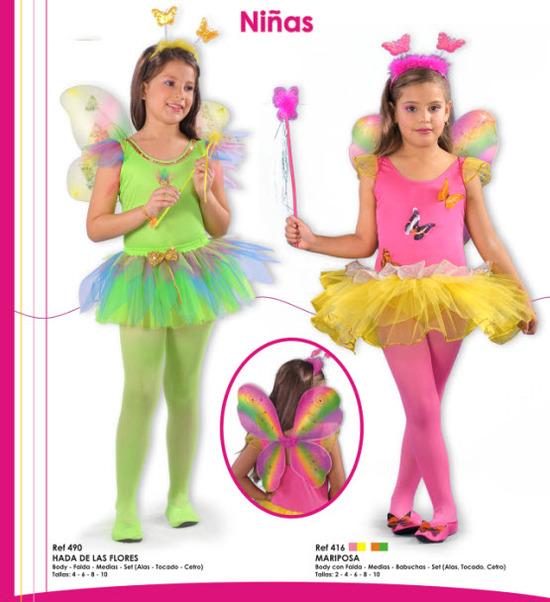 disfraces para niñas de hadas