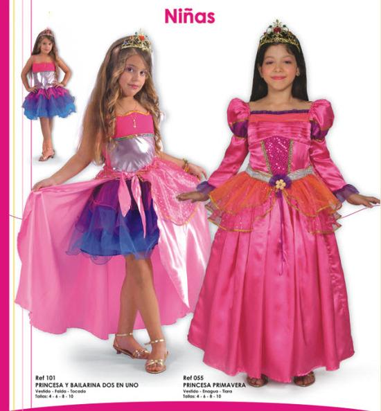 disfraces para ninas de princesas