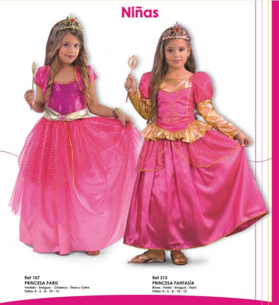 disfraces para niñas variados