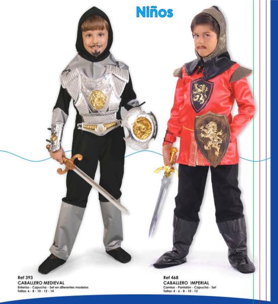 disfraces para niños 2012