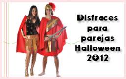Disfraces para parejas 2012