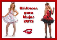 Disfraces para mujer 2012