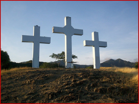 Sitio turistico de cali, el cerro de las tres cruces