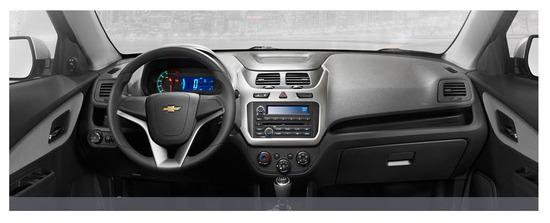 Chevrolet Cobalt diseno interior