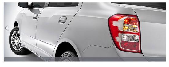 Chevrolet Cobalt farolas traseras