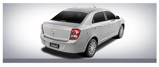 Chevrolet Cobalt vista parte trasera