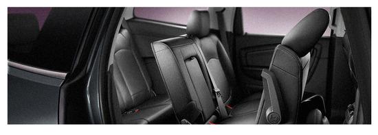 Chevrolet Traverse, asientos